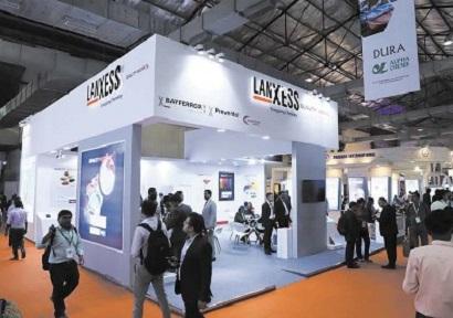 朗盛印度展示涂料和涂料行业的创新