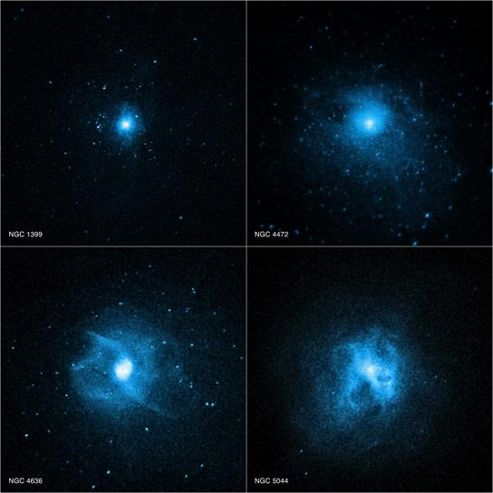 钱德拉(Chandra)揭示了为什么巨大的椭圆形星系很少有年轻的恒星