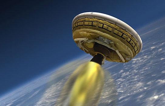 美国宇航局的LDSD'飞碟'测试飞行