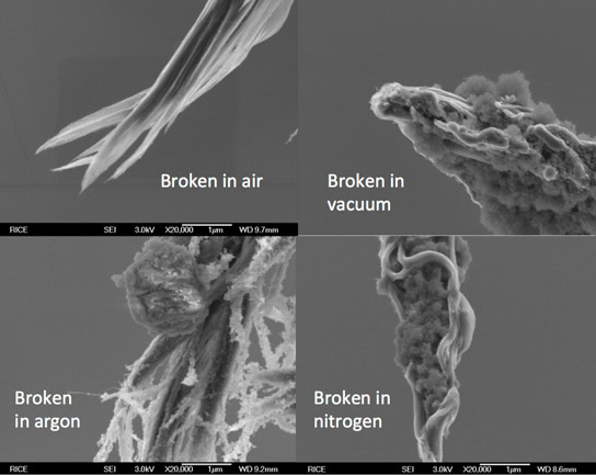 碳纳米管纤维优于传统的铜缆