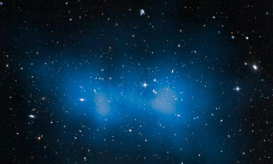 """哈勃衡量""""El Gordo""""Galaxy Cluster,比以前想到的更大"""