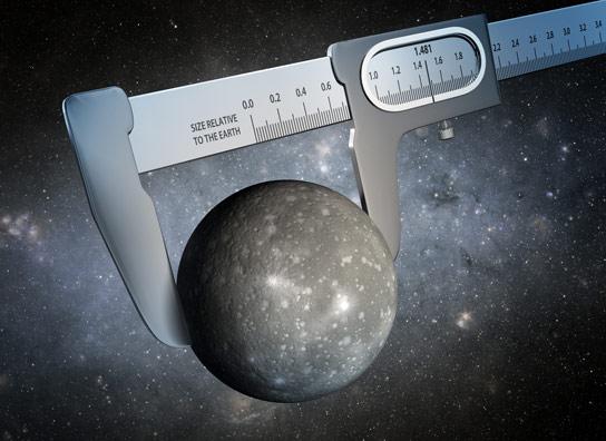 我们太阳系外的行星半径最精确的测量