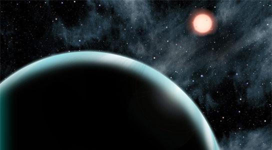 天文学家发现带有最长的年份的过度的外延,Kepler-421b