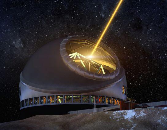 开始建造30米望远镜