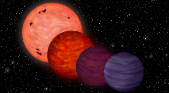 凉爽的行星样物体可能已经花了很多青年作为星星热