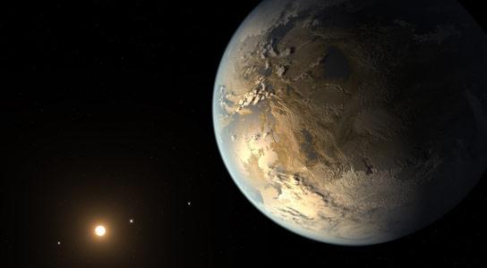"""开普勒发现了""""可居住区""""中的一颗星的地球大小的行星"""
