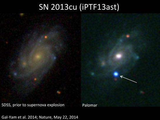 首次直接确认在IIB Supernova型中的狼 - 林分明星自毁
